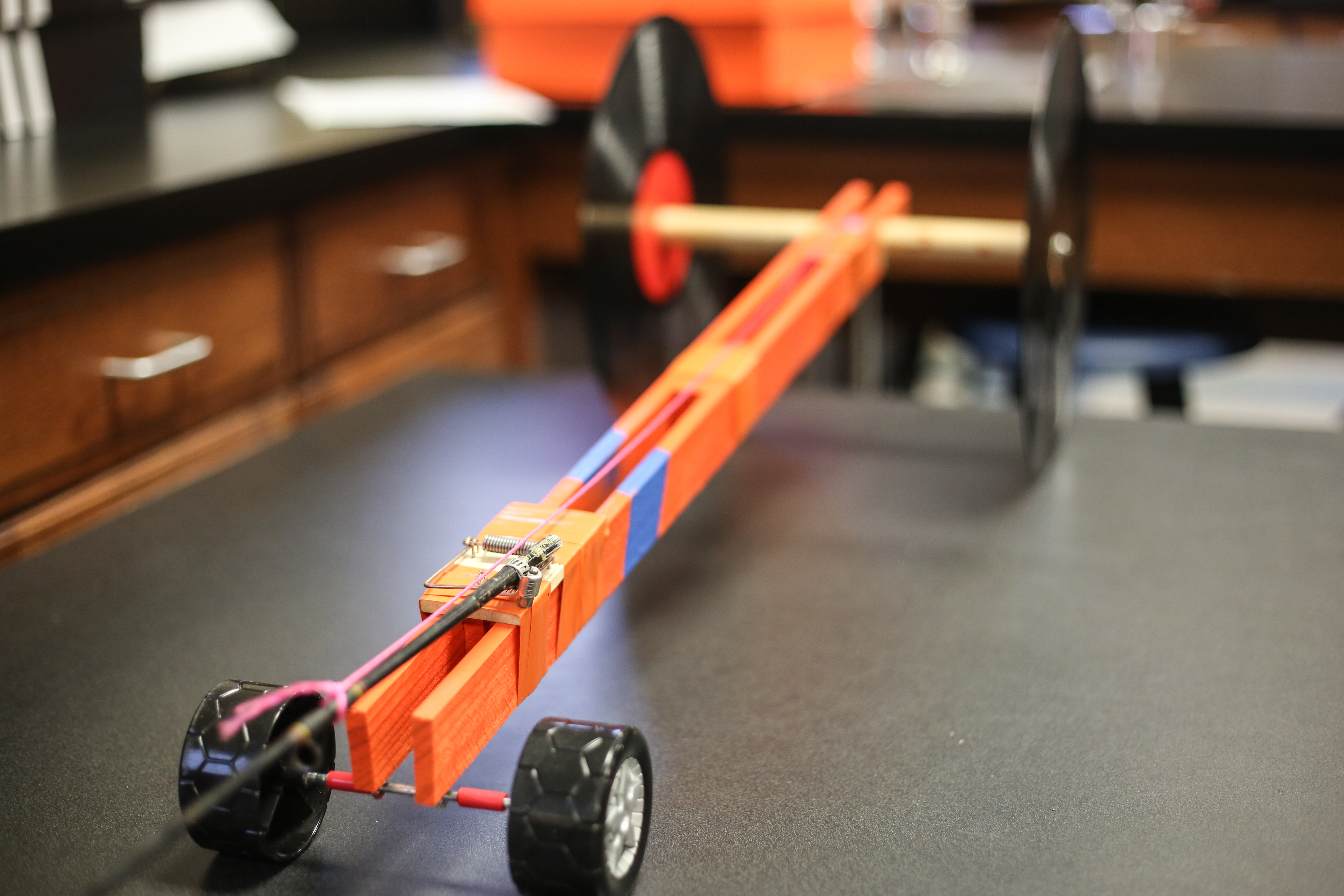 8th Grade Builds Mousetrap Cars Brook Hill School