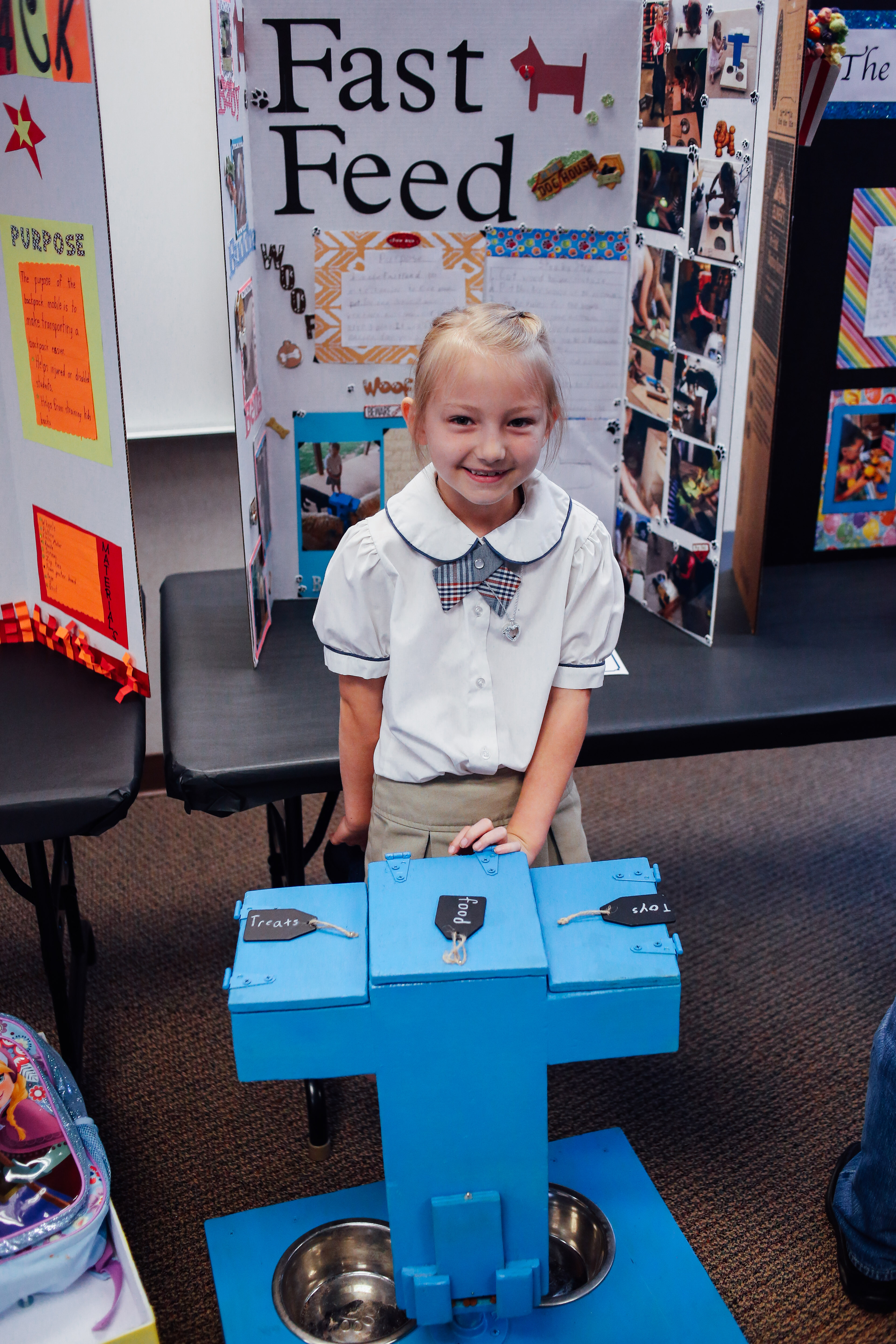 invention convention The effort spent on research, brainstorming, and model-making shows in each inventor's amazing displays even more powerful is the sense of pride seen on each face and heard in every conversation.