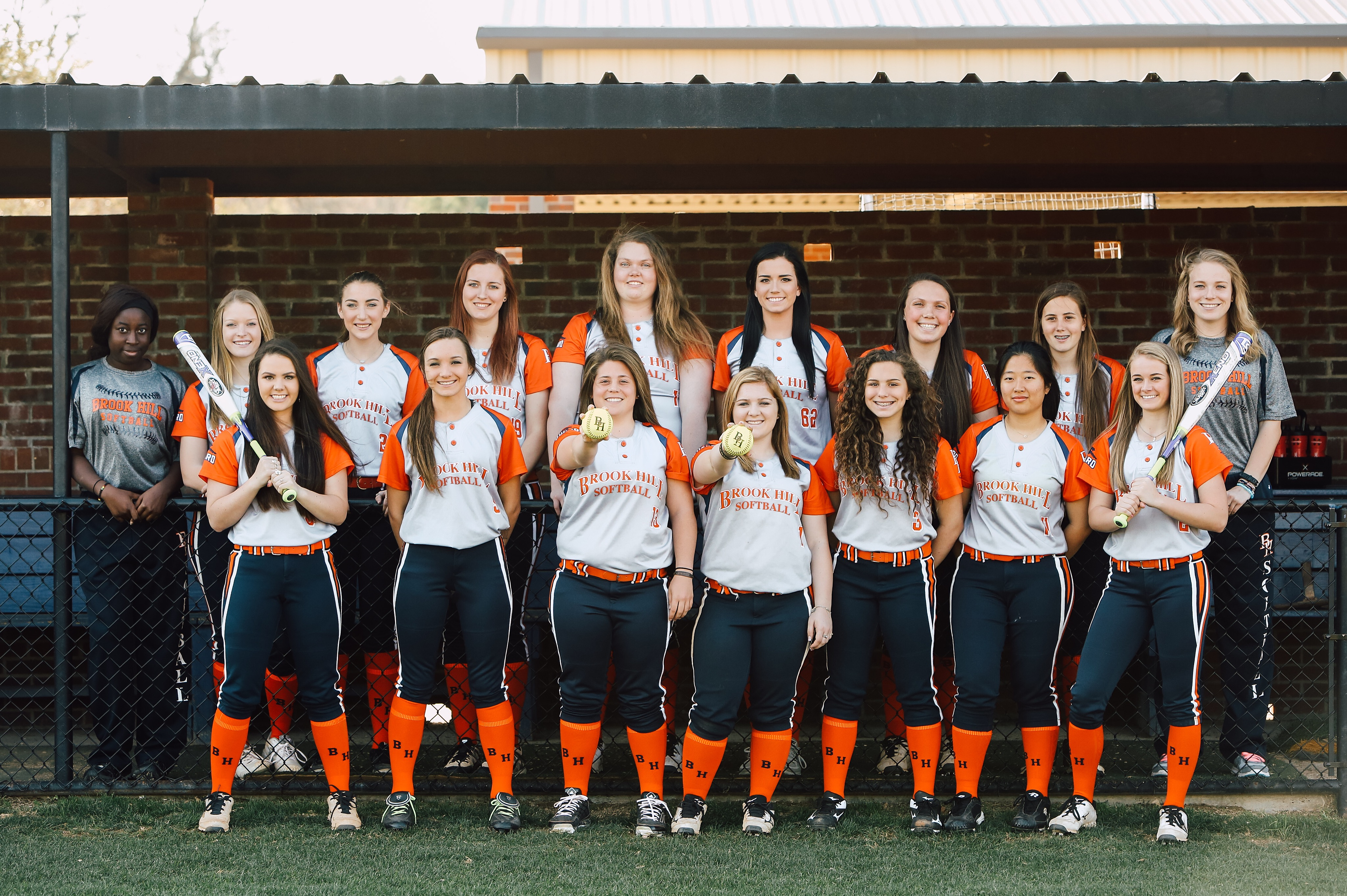 Brook Hill softball team photo (going to state!)