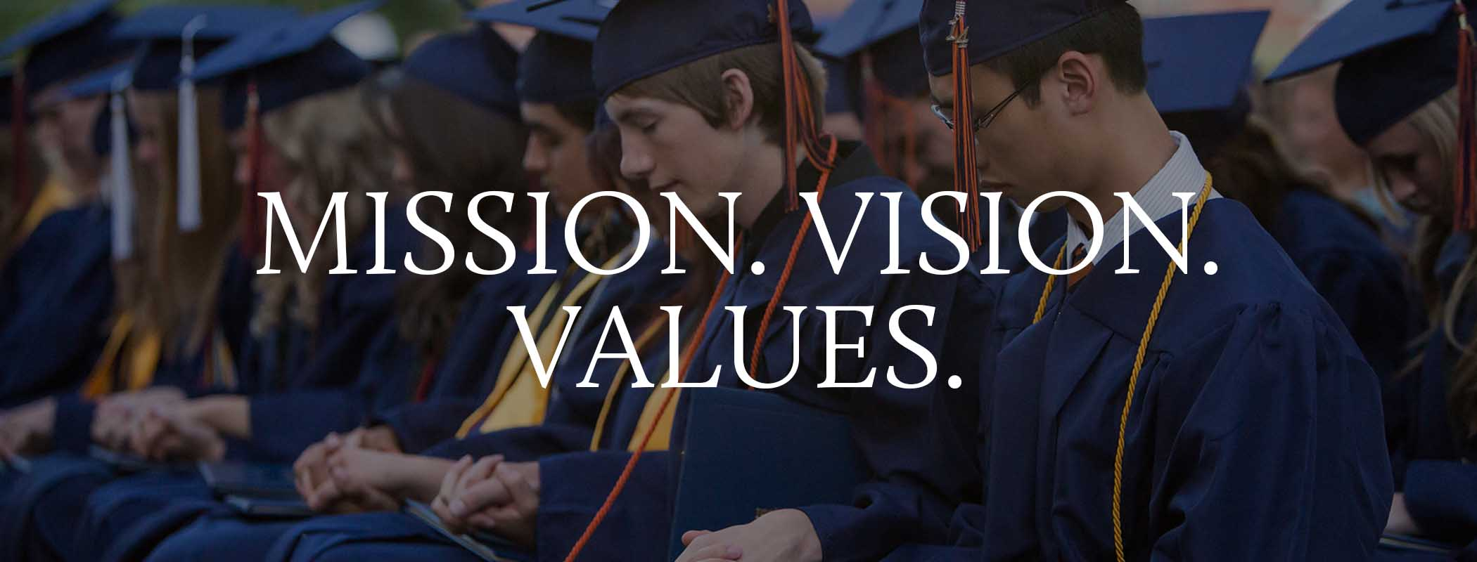 Values of a Christian school in Tyler