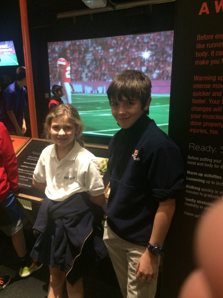 fourth grade took a field trip to perot museum brook hill school tyler tx. Black Bedroom Furniture Sets. Home Design Ideas