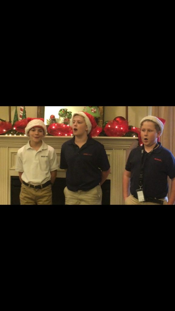 7th grade boys sing at the height of tyler brook hill school tyler tx. Black Bedroom Furniture Sets. Home Design Ideas