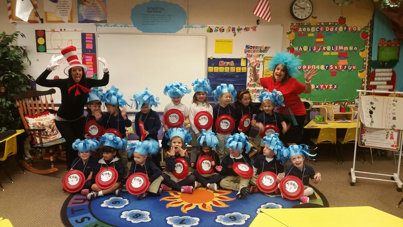 dr  seuss day at the lower school