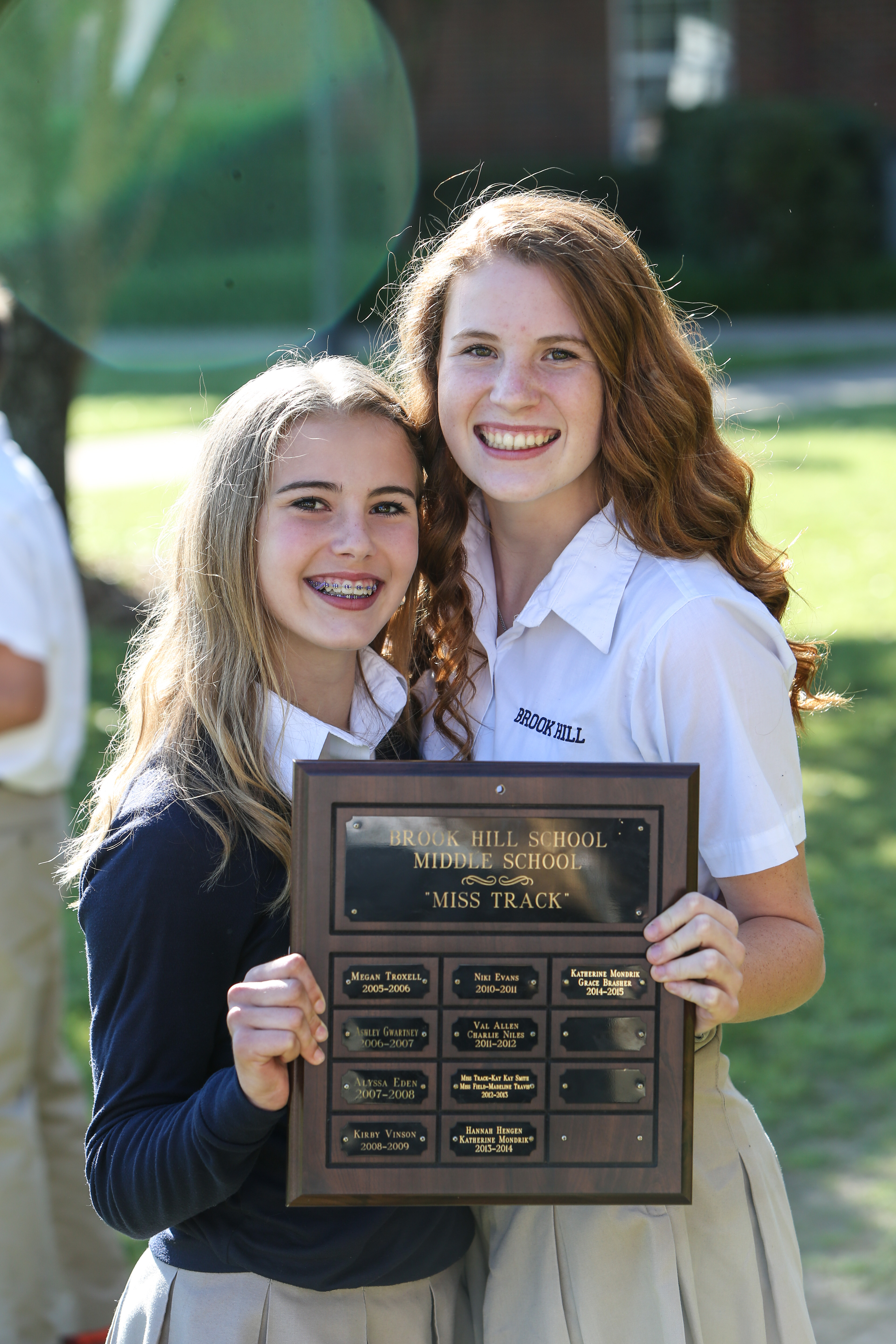 middle school athletic awards