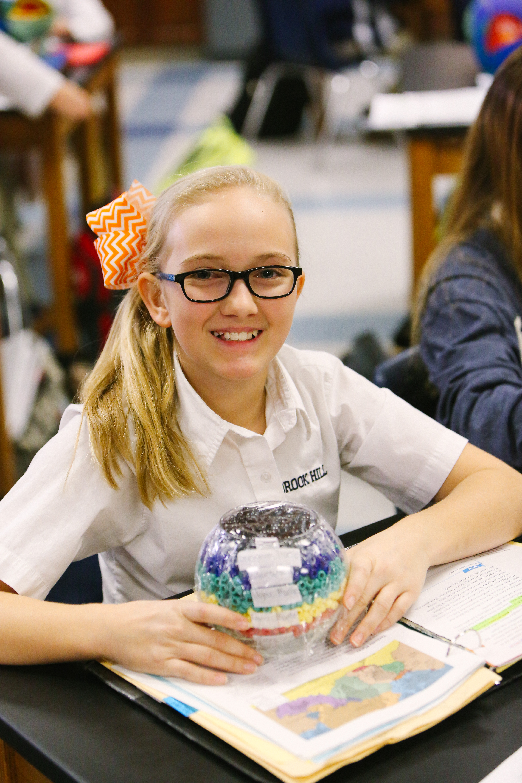 Earth Models in 6th Grade | Brook Hill School | Tyler, TX