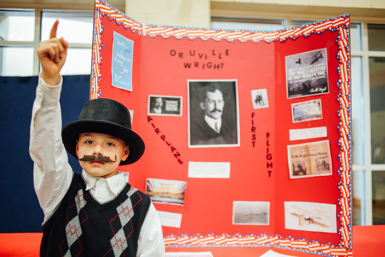 2nd grade wax museum