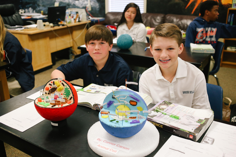 7th Grade Cell Project Brook Hill School Tyler Tx