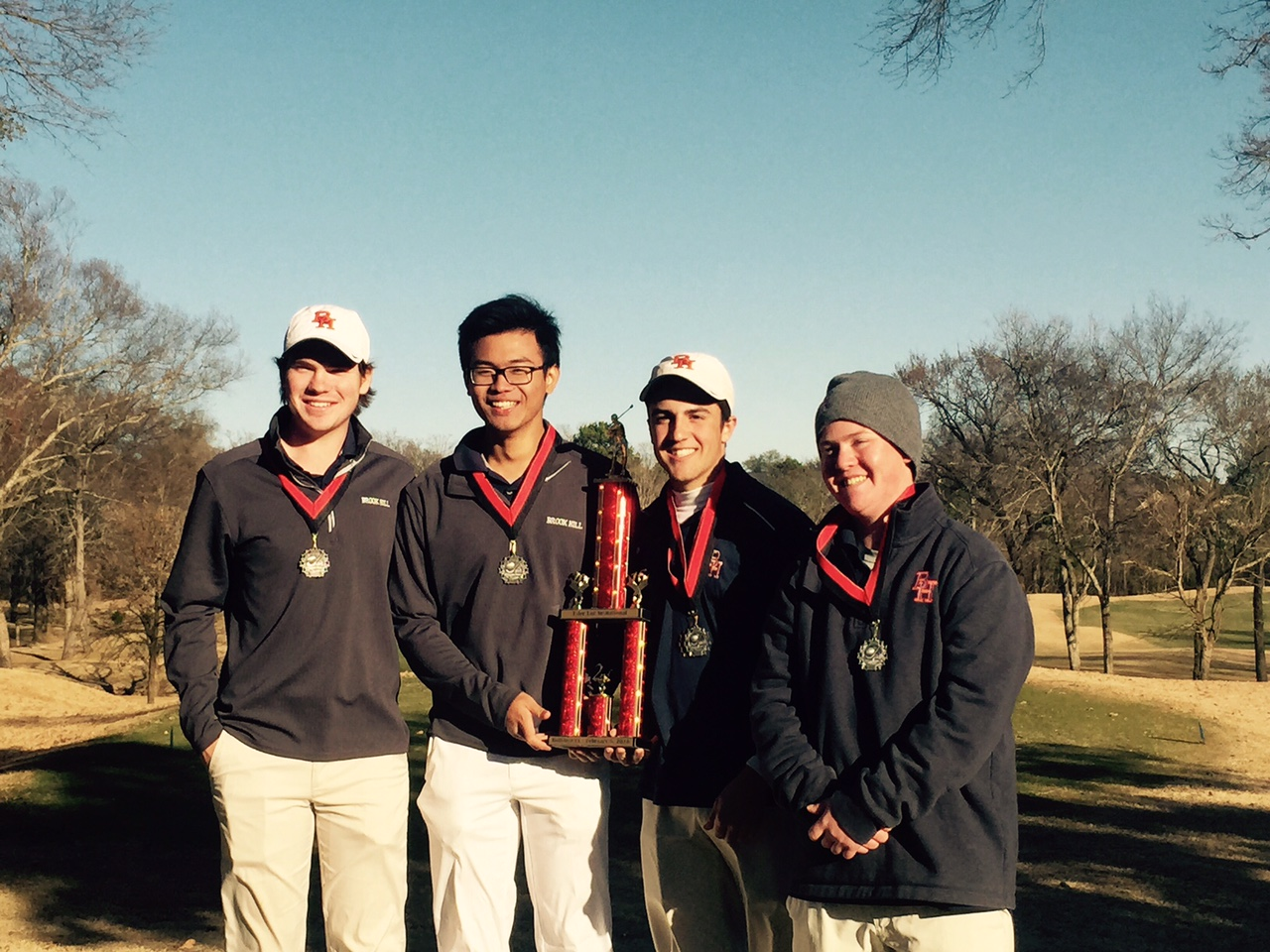 golf - 2nd place at tyler lee invitational