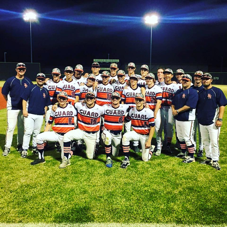 Brook Hill baseball team pic