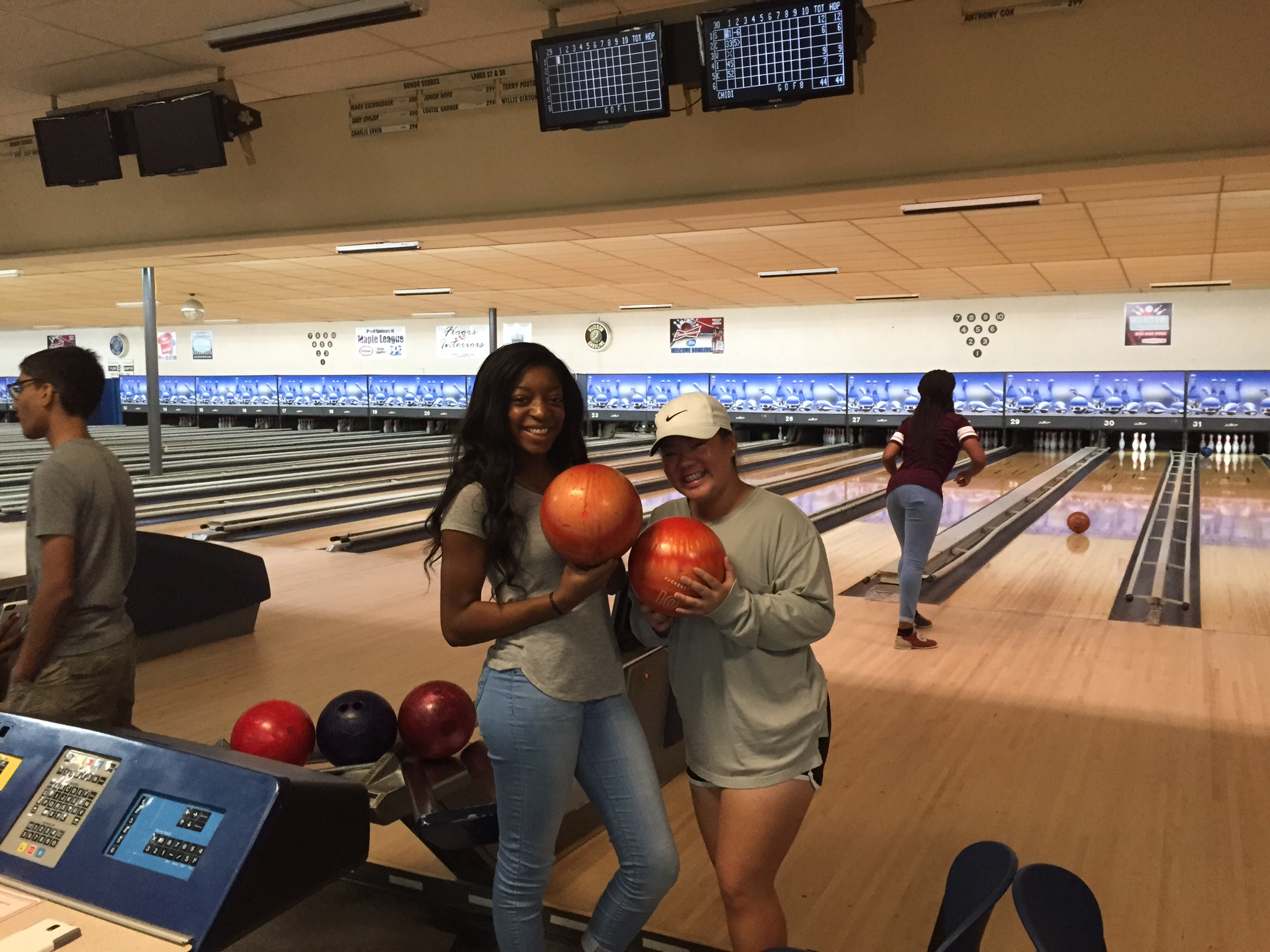 This past weekend some of our boarding students went to Green Acres Bowling Alley for a fun, local trip.