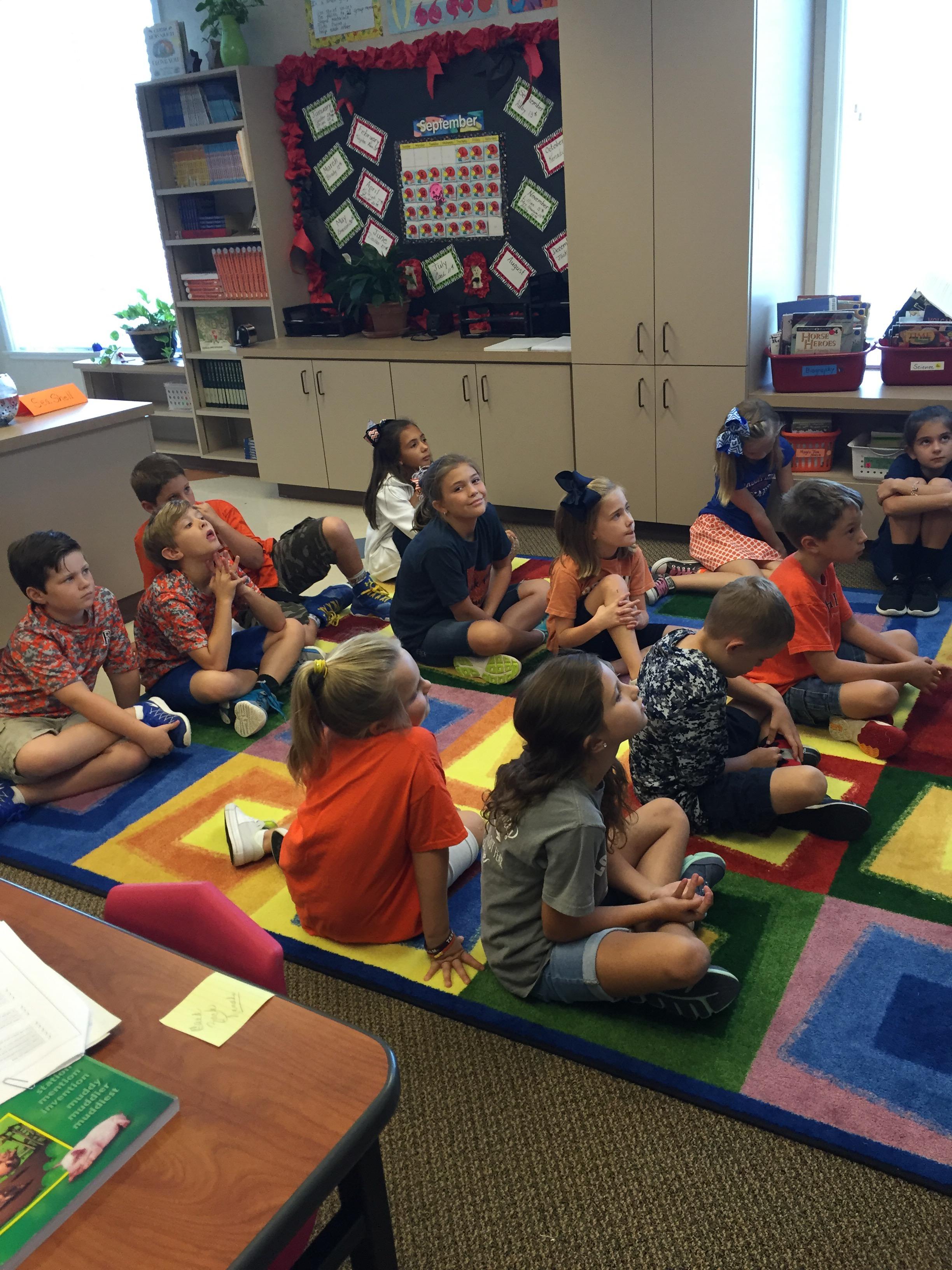 Skits in 3rd Grade | Brook Hill School | Tyler, TX