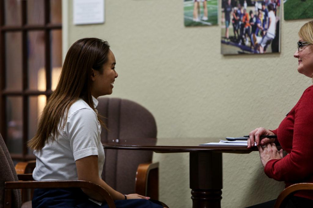 speech class prepares students for job interviews