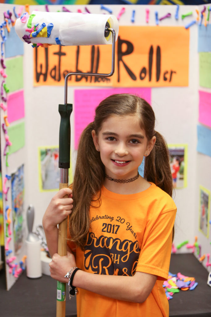third graders showcase their inventions