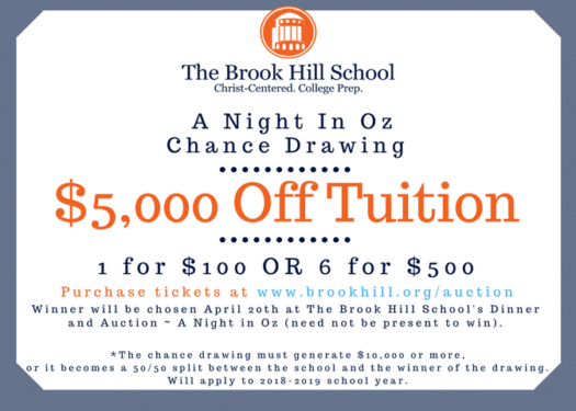 Follow the yellow brick road | Brook Hill School | Tyler, TX
