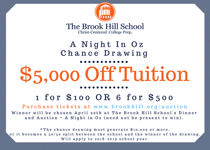 What could you do with an extra $5,000? | Brook Hill School | Tyler, TX