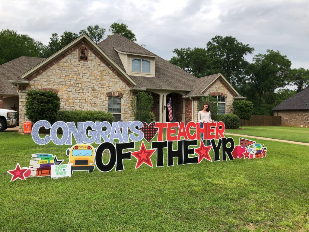 CONGRATULATIONS TO AMY FITZGERALD, BROOK HILL'S TEACHER OF THE YEAR