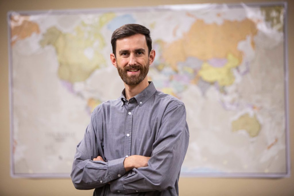 Faculty Highlight: Wes English