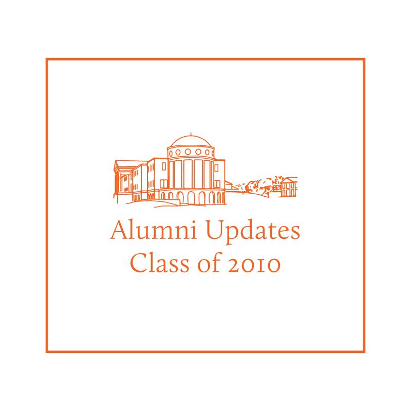 Alumni Highlight: The Class of 2010